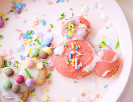 Mickey shapes biscuit recipe