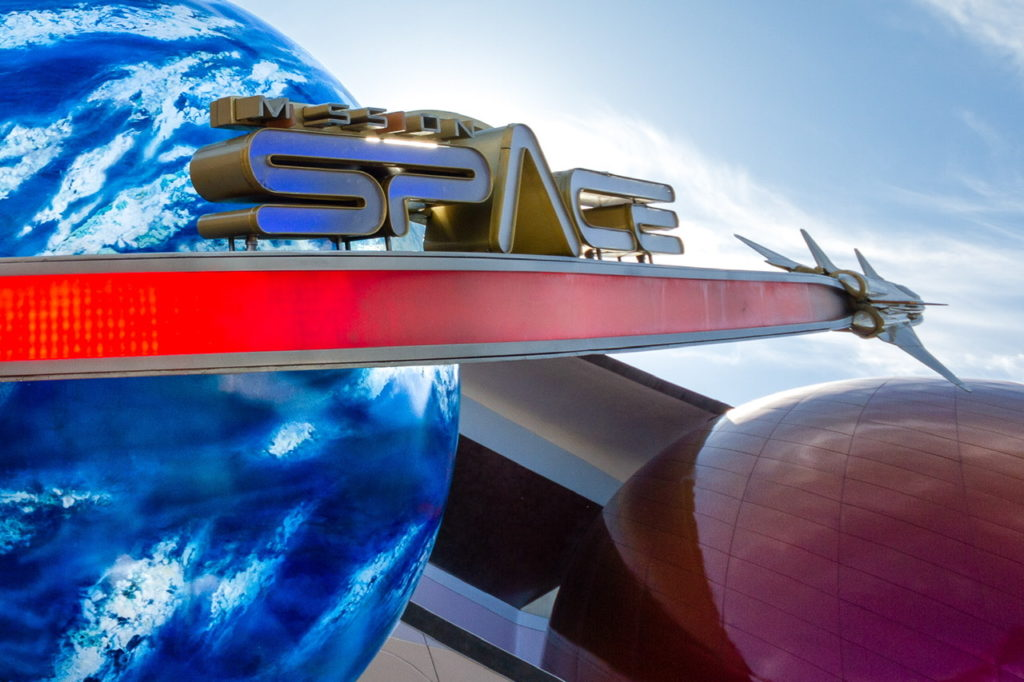 Mission: SPACE in Walt Disney World's Epcot