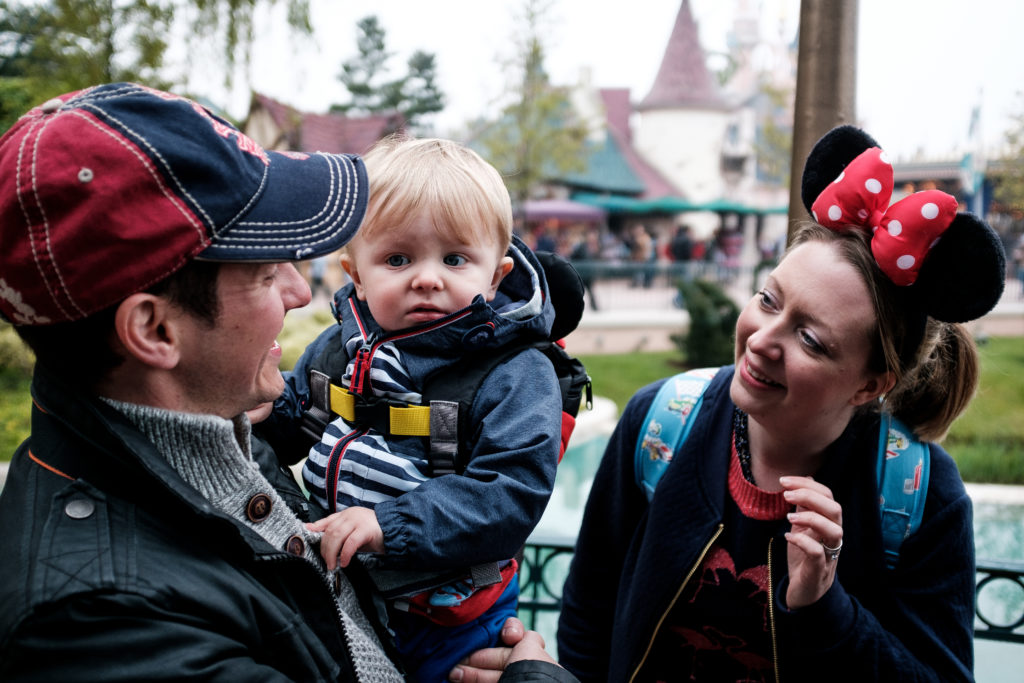 My Disney Holiday's Helly and Family in Disneyland Paris