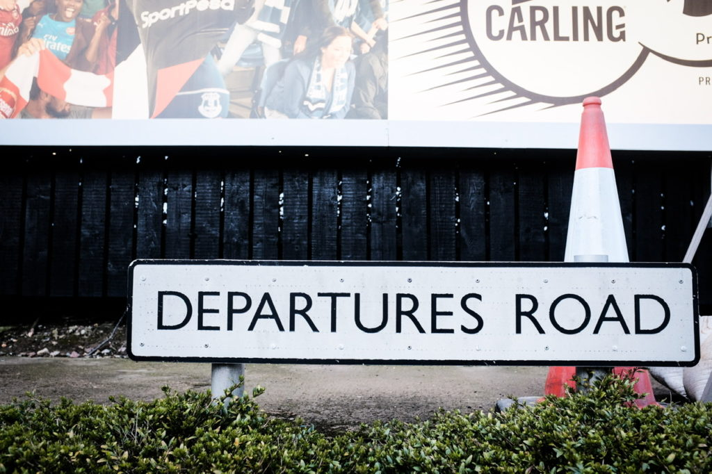 Departures Road after booking your Disney World Holiday